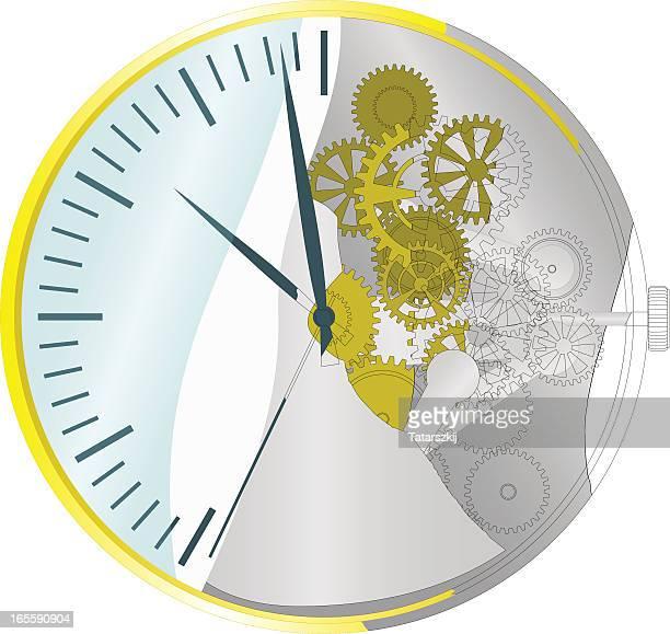 ilustraciones, imágenes clip art, dibujos animados e iconos de stock de reloj despertador - reloj de bolsillo