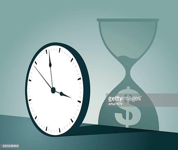 ilustraciones, imágenes clip art, dibujos animados e iconos de stock de reloj despertador - reloj de pared