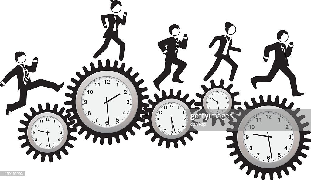 Clock Work : stock vector