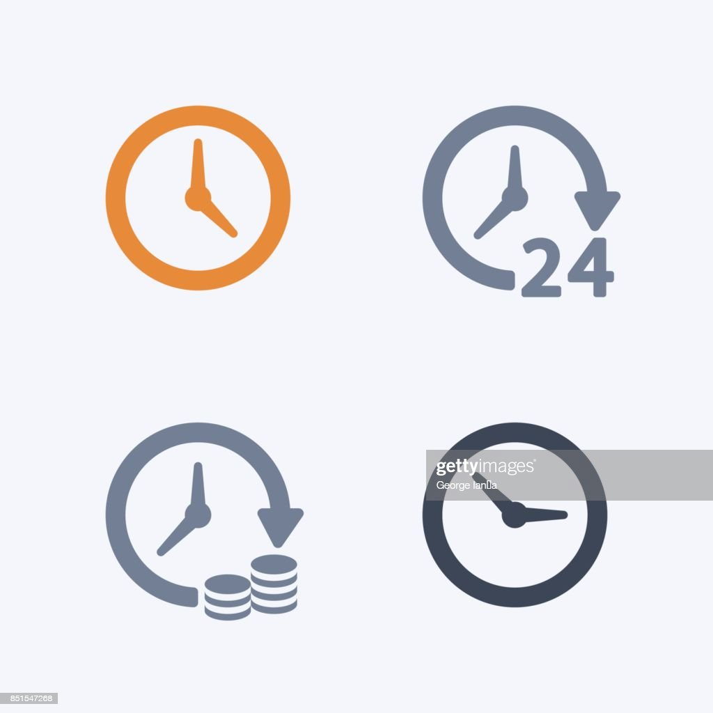 Clocks & Time - Carbon Icons