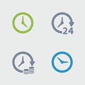 Clocks & Time - Granite Icons