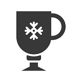 clod beverage cup. cute christmas and winter related set,solid design,suitable for use as material