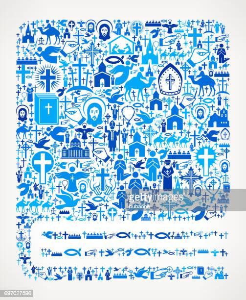 ilustraciones, imágenes clip art, dibujos animados e iconos de stock de libro cerrado de cristianismo y religión vector ilustración - personas leyendo la biblia