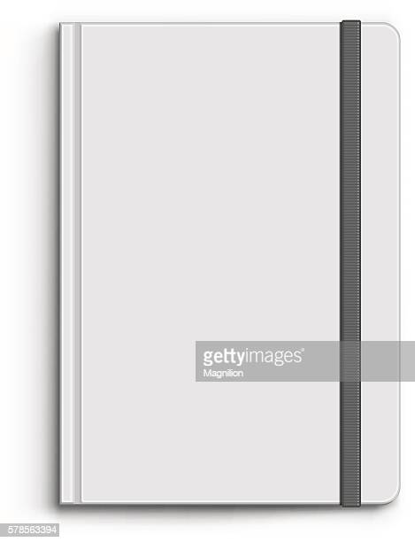 closed notebook - note pad stock illustrations