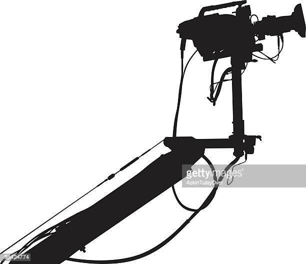 closeup of video camera with all the materials - film studio stock illustrations, clip art, cartoons, & icons