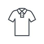 Clothes Line Icon Polo T-shirt