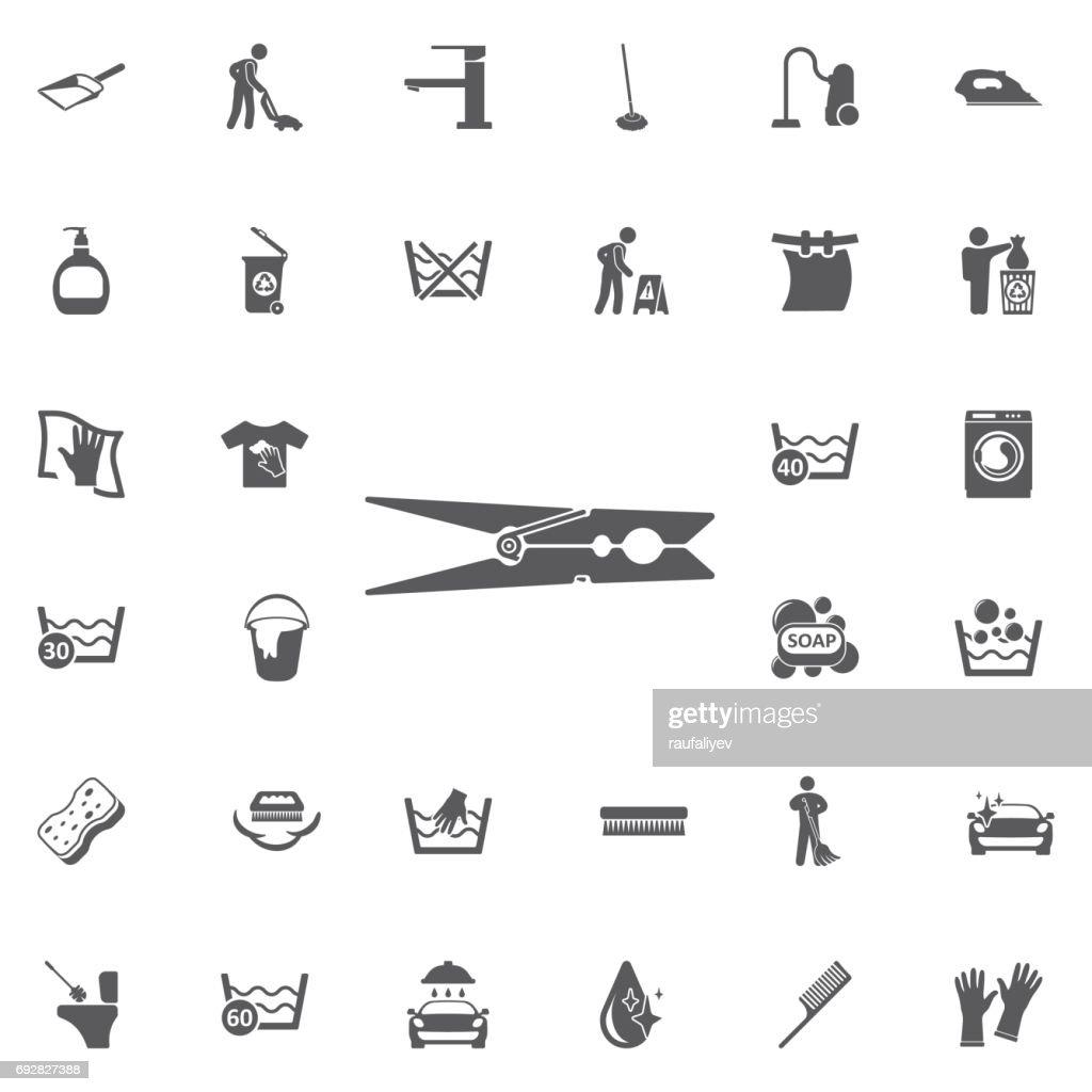 clothes peg icon.