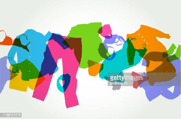 服 - 織物点のイラスト素材/クリップアート素材/マンガ素材/アイコン素材