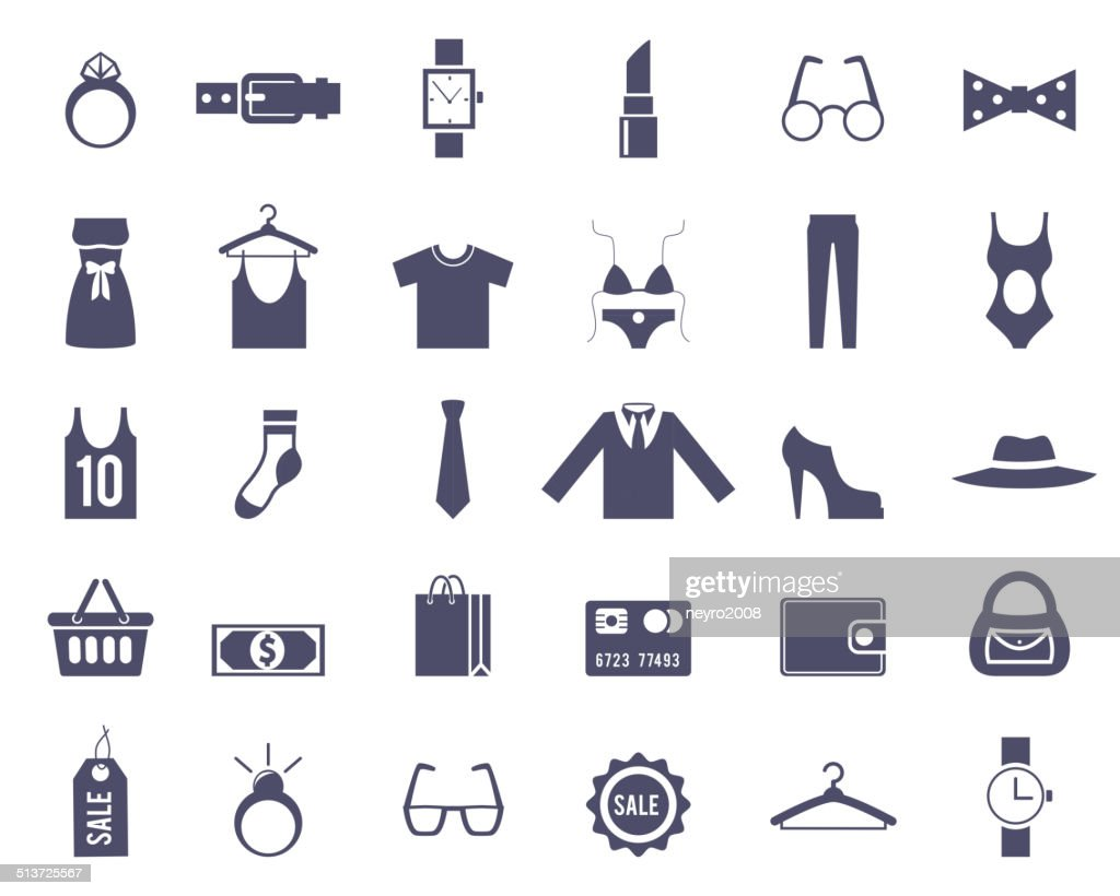 Clothing and Accessories Themed Graphics