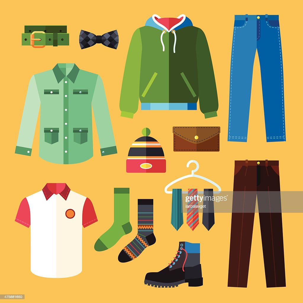 Clothing Icons Set