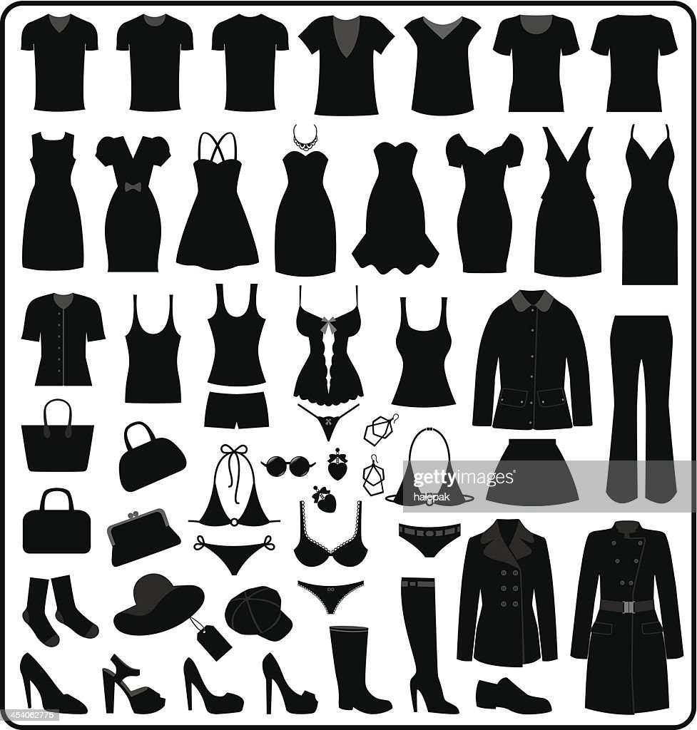 Clothing Silhouette, illustration