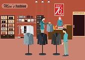 Clothing store for men2.