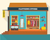 Clothing store.
