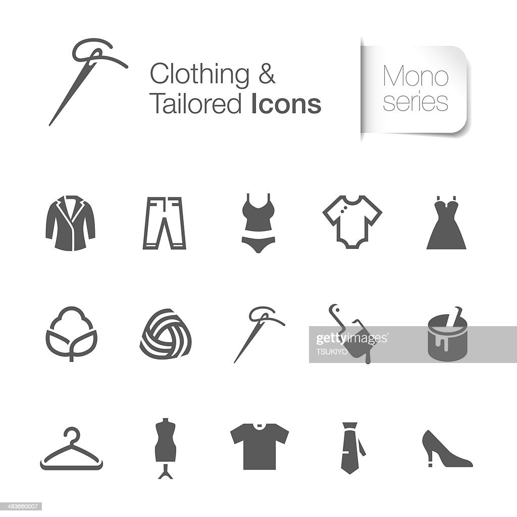 clothing & tailored related icon