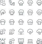 Cloud Computing Cool Vector Icons 1