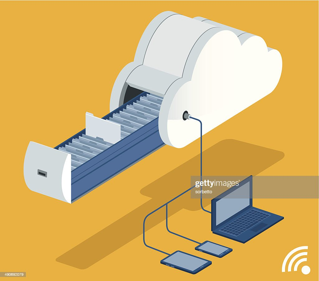 Cloud Computing : stock vector