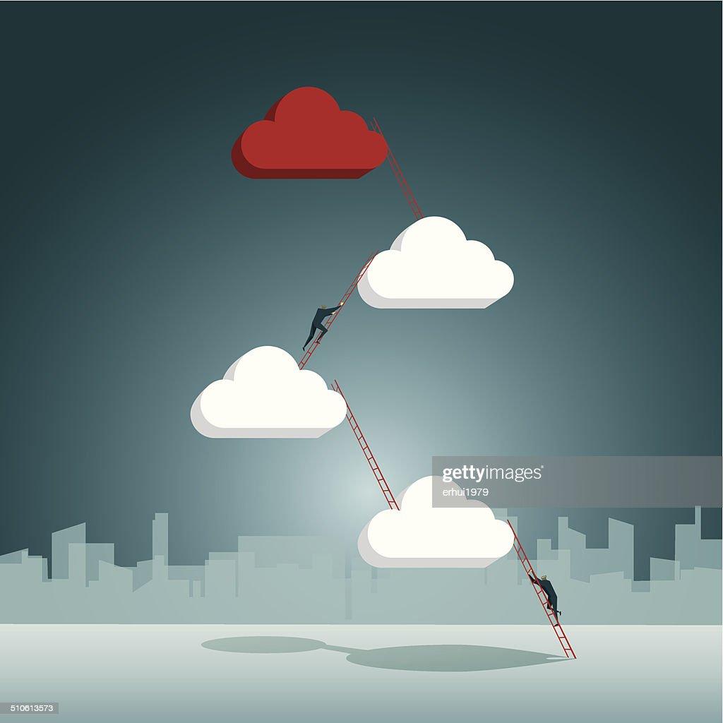 Cloud Computing : stock illustration