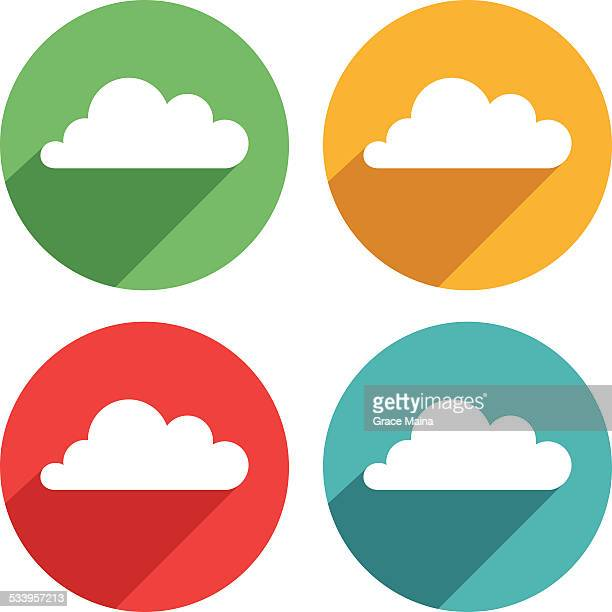 Cloud icons - VECTOR