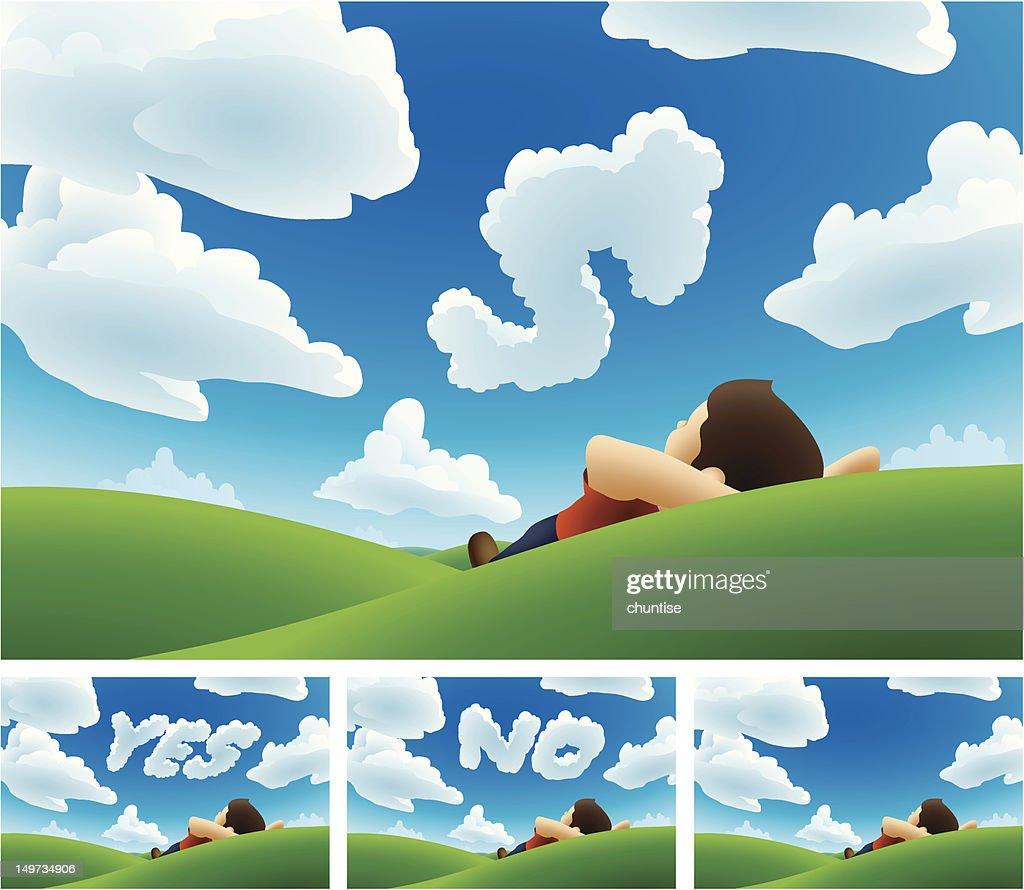 Cloud Watching Message