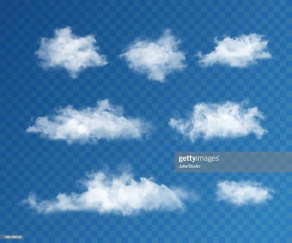 Clouds realistic set