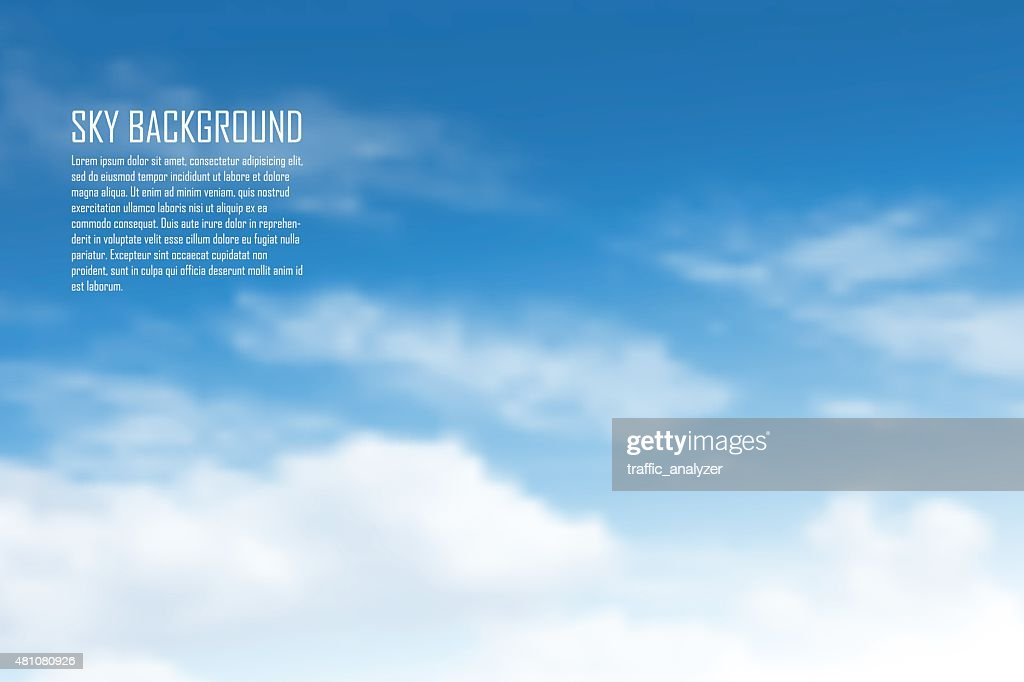 Clouds : Stock Illustration