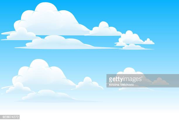 clouds - cloud sky stock illustrations