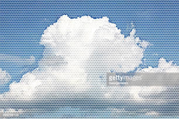 Cloudscape Halftone
