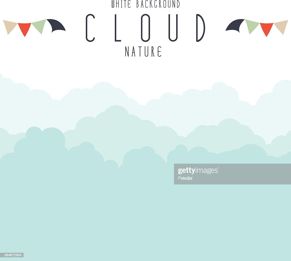 Cloudscape or fog background.