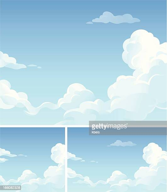 cloudscape - cloudscape stock illustrations, clip art, cartoons, & icons