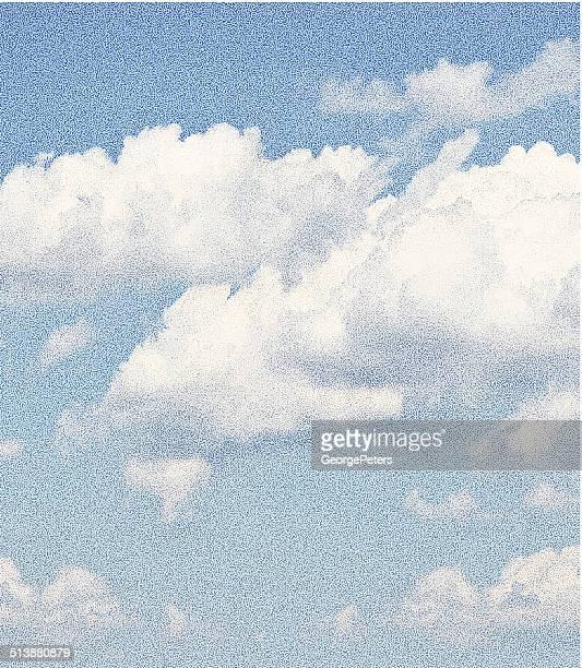illustrazioni stock, clip art, cartoni animati e icone di tendenza di panorama di nuvole - cielo minaccioso