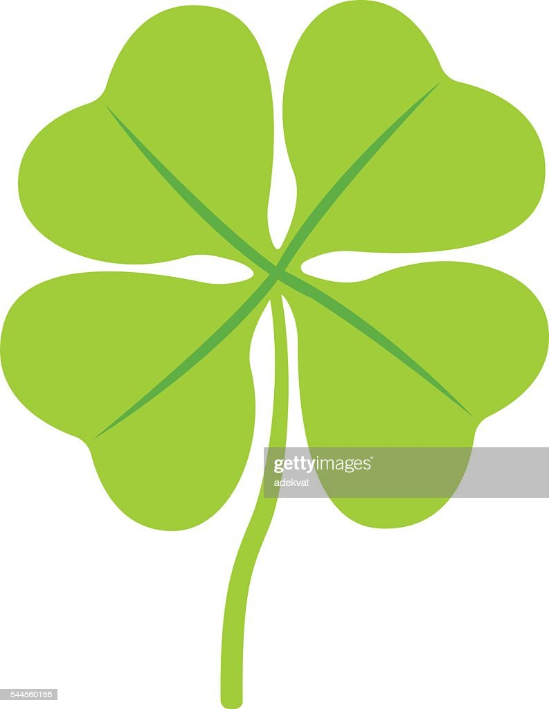 Clover illustration icon vector