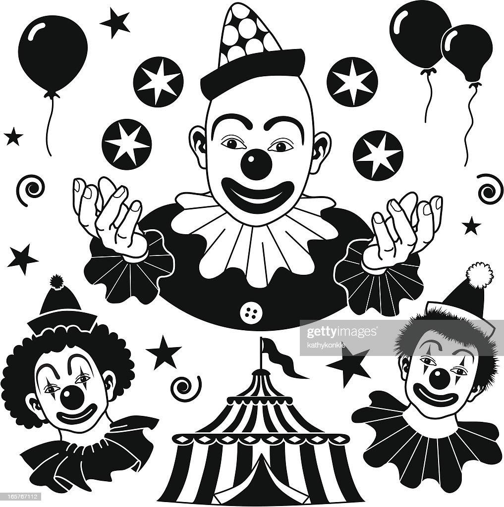clown design elements
