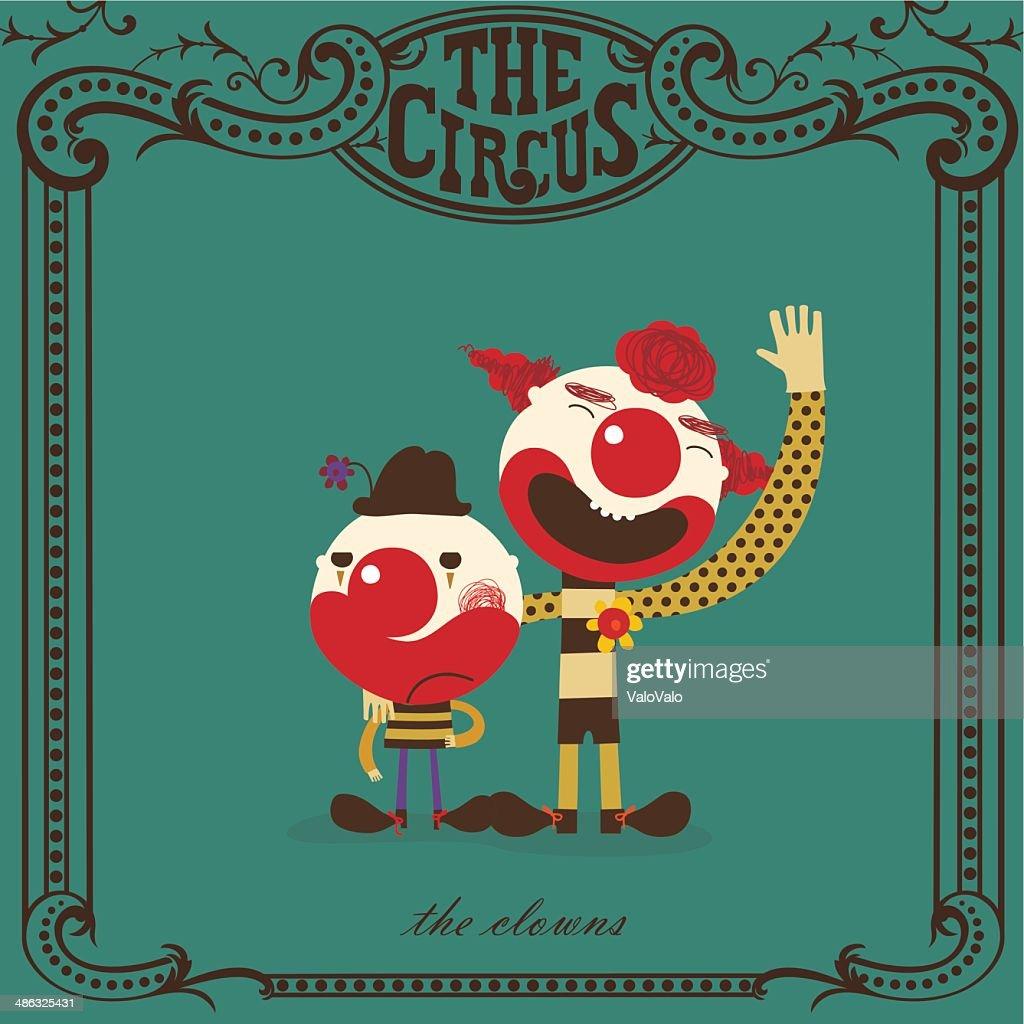 clowns at the circus