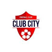 Club City Football Club icon Vector Template