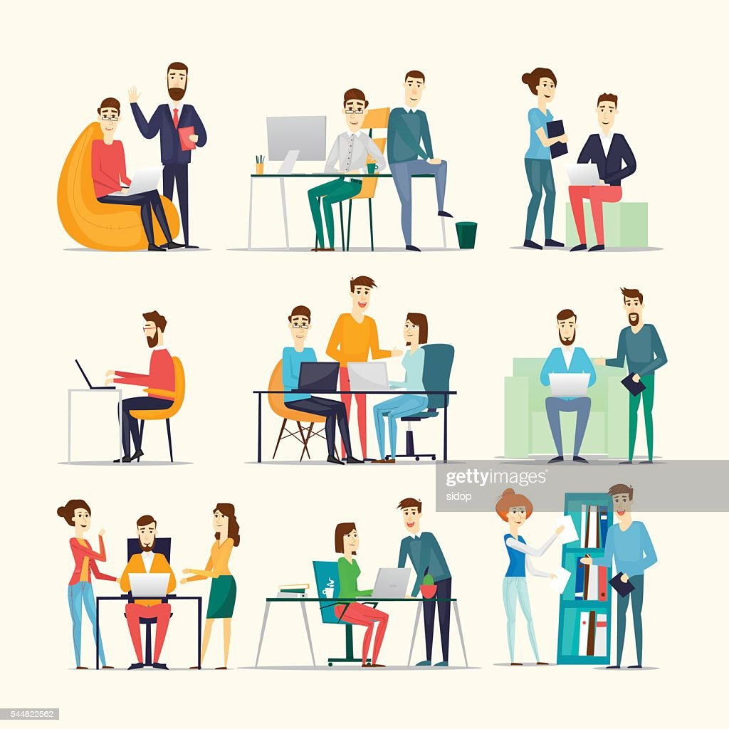 Co working people, meeting, teamwork, collaboration and discussion