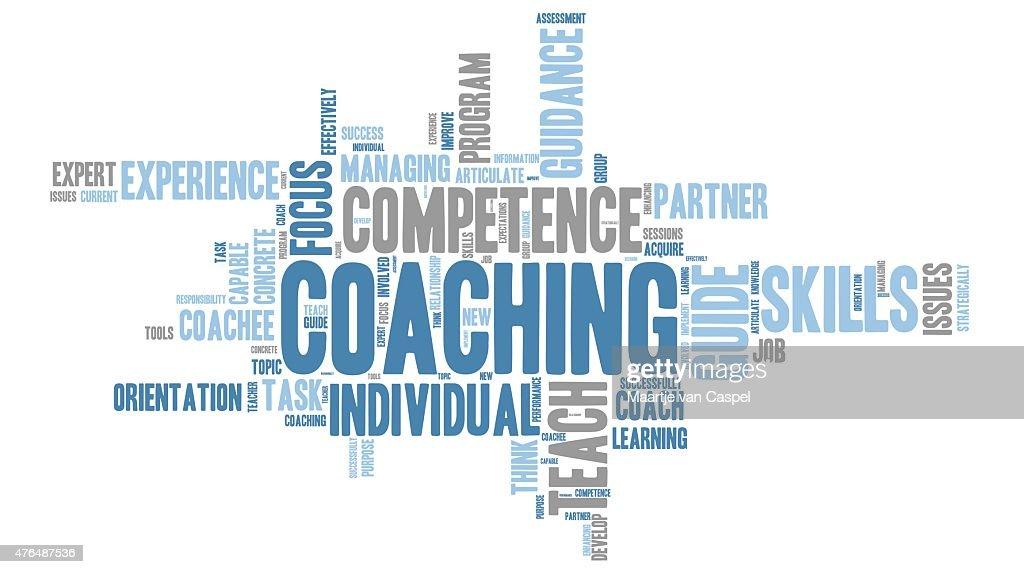Coaching - teaching Word Clouds