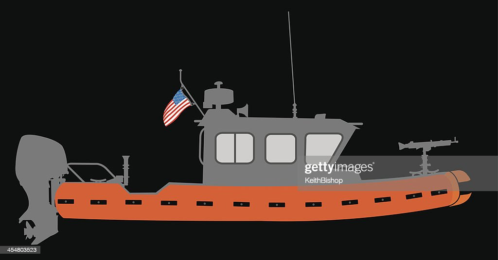 U.S. Coast Guard Boat