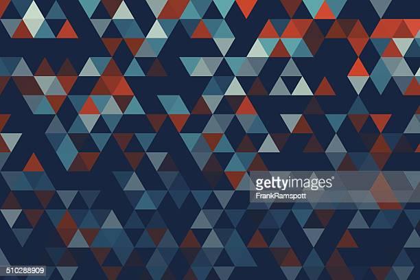 Coast Dreieck Muster mit Farbverlauf