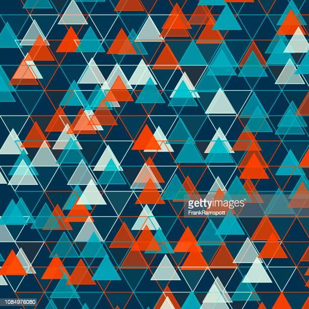 Küste-Dreieck-Vektor-Design-Pattern