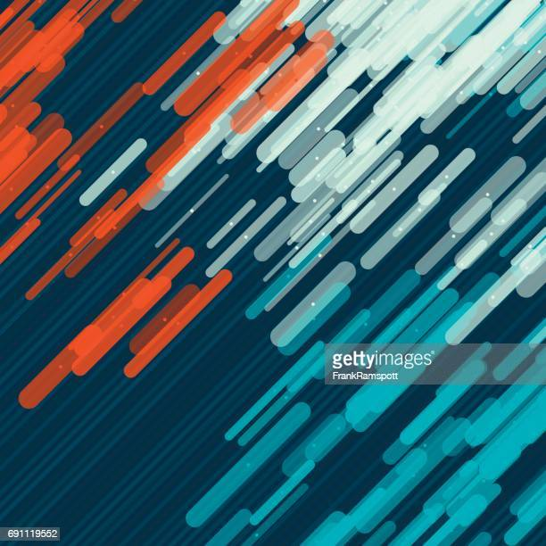 Coast Vector Rounded Rectangles Pattern