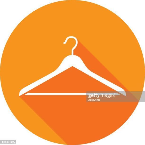 Coat Hanger Icon Silhouette 3