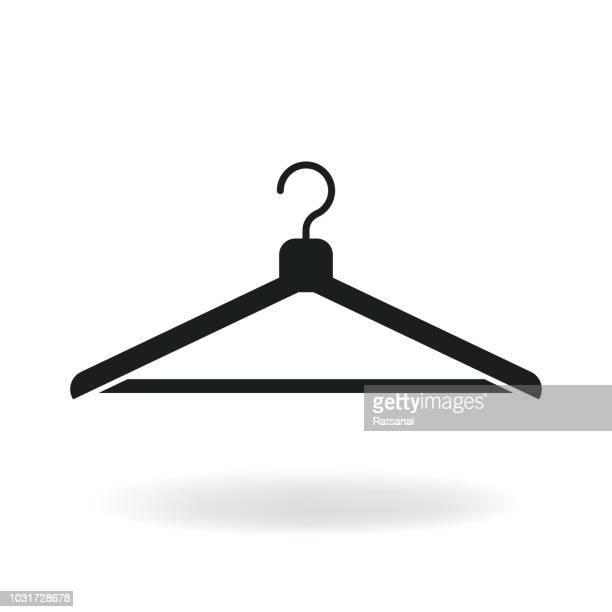 coat hanger - coathanger stock illustrations