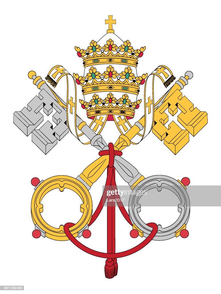 Coat of Arms of Vatican