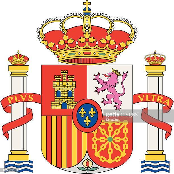 紋章(スペイン) - スペイン点のイラスト素材/クリップアート素材/マンガ素材/アイコン素材