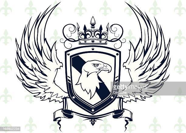 Brasão com eagle