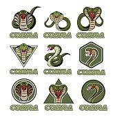 Cobra logos