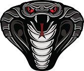 Cobra Snake Mascot Logo
