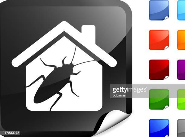 cockroach infestation internet royalty free vector art - infestation stock illustrations, clip art, cartoons, & icons