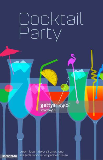 cocktail drinks - tequila drink stock illustrations, clip art, cartoons, & icons