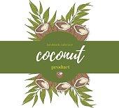 Coconut label